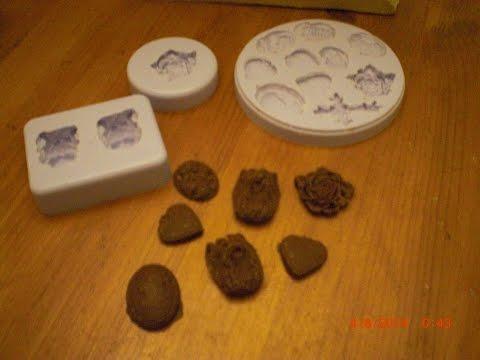Schokolade selbst in Form giessen - Form dafür selber aus Silikon herstellen