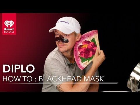Diplo Tutorial : Blackhead Remover Mask