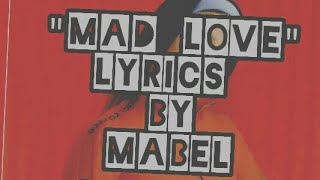 Mad Love Lirik Cover(lyrics)   Mabel