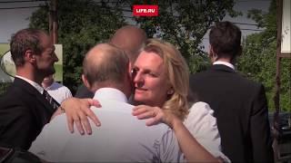 Путин на австрийской свадьбе