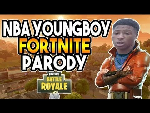NBA YoungBoy - Outside Today (Fortnite Battle Royale Parody)