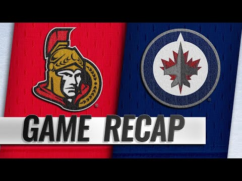 Senators top Jets in 4-3 overtime victory