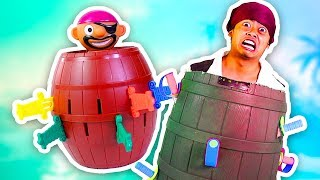 POP UP PIRATE IN REAL LIFE CHALLENGE!