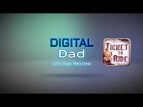 Dad vs Daughter - Digital Dad - Ticket to Ride - iOS App Review