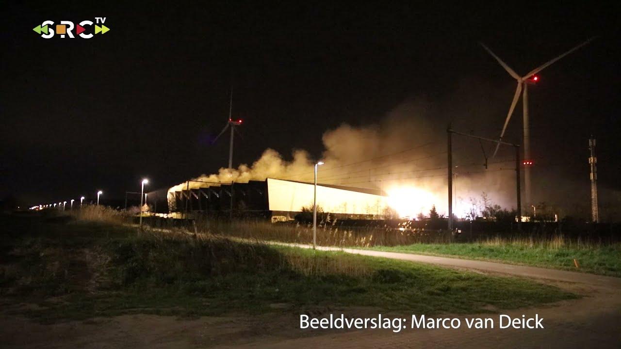 Brand bij afvalverwerker Avri uit Geldermalsen