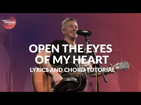 Open The Eyes Of My Heart - Youtube Tutorial Video
