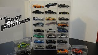 The Fast and Furious Cars Collection - New Case - Hot Wheels | Racing Champions