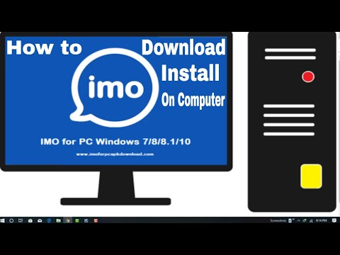 How To Download or Install IMO Calling app for Windows Desktop | Imo for PC-Laptop | imo for Windows
