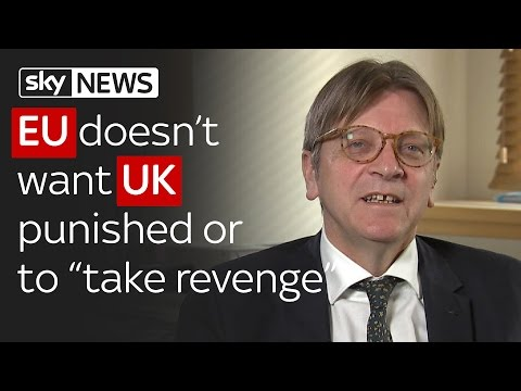 Brexit: EU doesn't want UK punished or