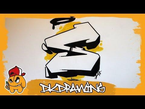 Graffiti Alphabet Tutorial How To Draw Graffiti Letters Letter S