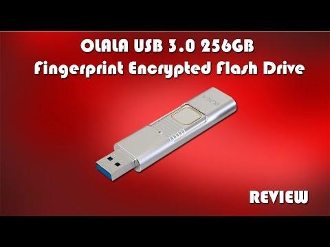 OLALA 256GB Fingerprint Encrypted USB 3.0 Flash Drive Review