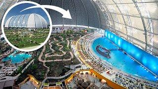 Tropical Islands Resort in a German Blimp Hanger
