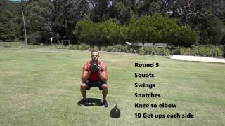 15 Min Kettlebell Ladder by Troy van spanje