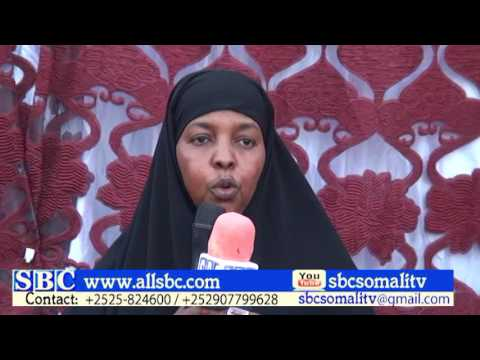 Graduation of midwives in Puntland