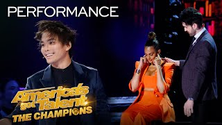 Shin Lim And Colin Cloud Are The AVENGERS of MAGIC! - America's Got Talent: The Champions thumbnail