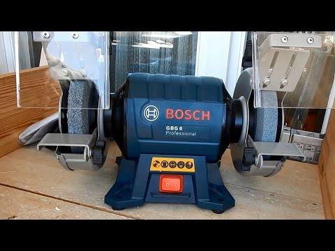 Точило Bosch GBG 6 Professional: обзор и доработка напильником ;)