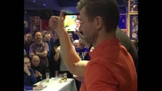 Arthur Numan With An Amazing Gesture!