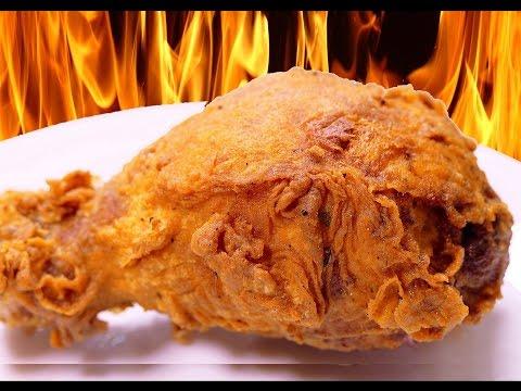 El pollo frito más CRUJIENTE del mundo (KFC)