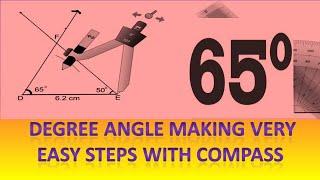 65° angle construction