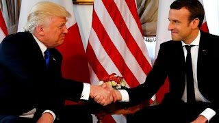 Trump meets with NATO allies in Brussels