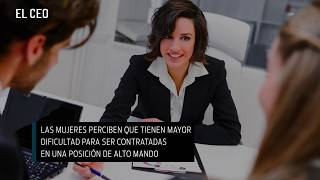 En México solo 2 de cada 10 CEO son mujeres