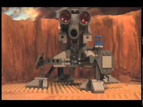 LEGO Star Wars III: The Clone Wars Stop Motion