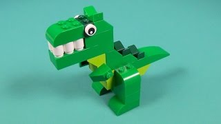 Lego Dino Building Instructions - Lego Classic 10693 How To