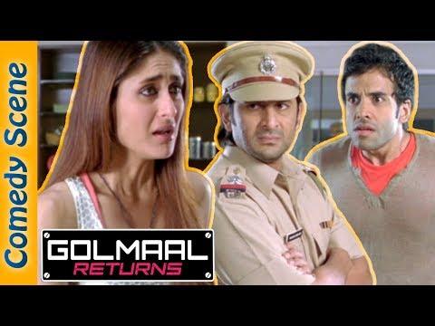 Shemaroo indianComedy - Golmaal Returns Comedy Scene - Arshad Warsi - Ajay Devgn - Kareena