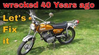 Found an Original 1973 Yamaha Enduro 175 in need of love