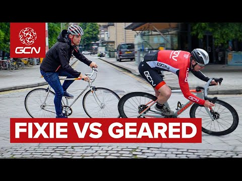 Fixie Vs Geared: Which Bike Is Fastest For City Riding?