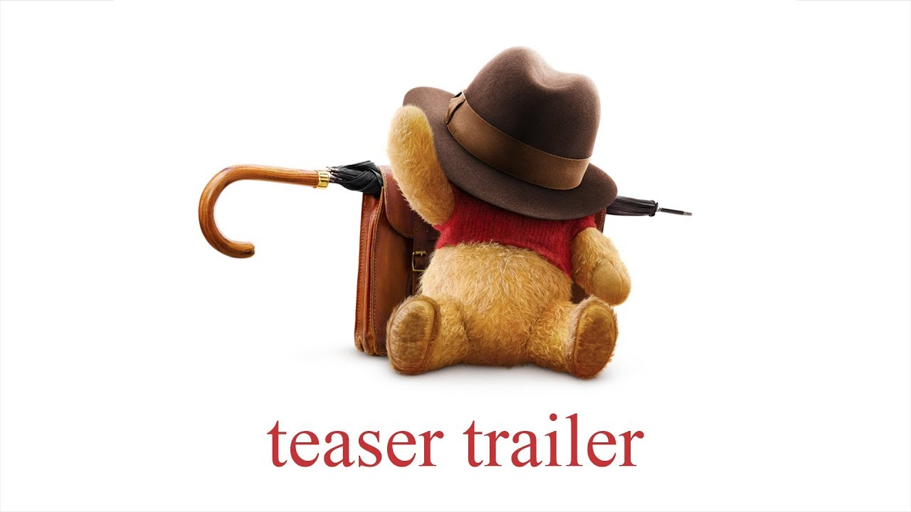 Video trailer för Christopher Robin Official Teaser Trailer