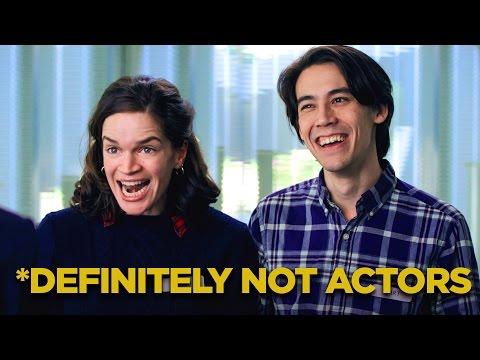 Personas que son definitivamente no actores reales