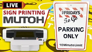 How To Print A Custom Metal Sign | Mutoh ValueJet Webinar