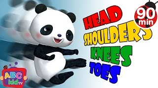 Head Shoulders Knees and Toes 2 | +More Nursery Rhymes & Kids Songs - Cocomelon (ABCkidTV)