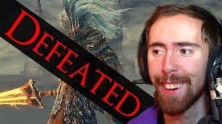 """Literal God"" Asmongold ONE SHOTS Nameless King Dark Souls 3"