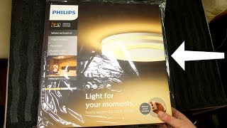 Philips Hue White Ambiance Being Ceiling - Unboxing