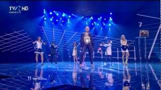 HD Eurovision 2012 San Marino: Valentina Monetta - The Social Network Song (Semi-Final 1)