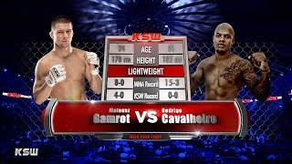 KSW Free Fight: Gamrot vs Cavalheiro