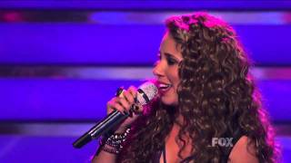"true HD Haley Reinhart ""You and I"" Top 5 American Idol 2011 (May 4)"