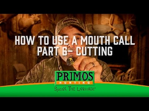 How to Use a Mouth Turkey Call Part 6 - Cutting video thumbnail