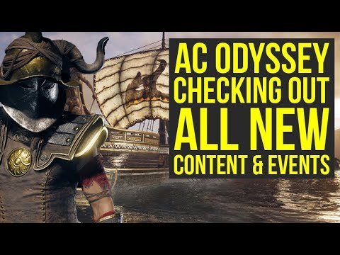 Assassin's Creed Odyssey DLC - Checking Out All The New Stuff (Weekly Reset May 7)