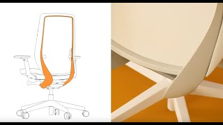 Balanční ergonomická židle AccisPro s unikátní mechanikou pro aktivní sezení