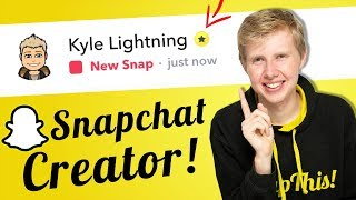 Snapchat Verification - How to Gain the Gold Star and Everything You need to know!