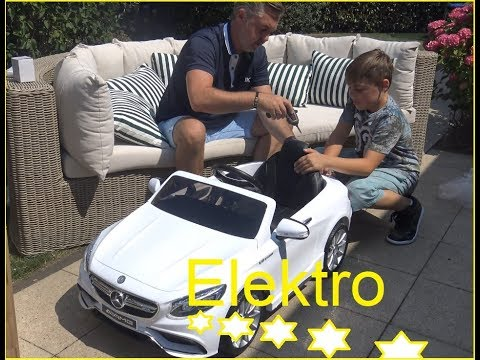 Elektro Kinderauto Mercedes AMG S63