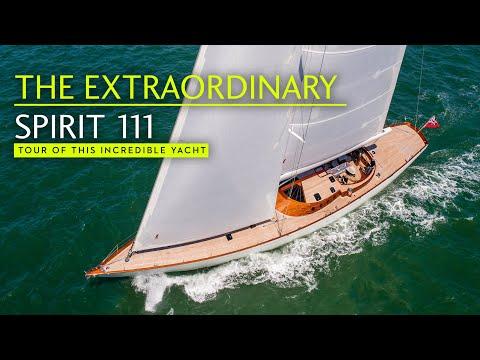 Spirit 111 – Sailing art