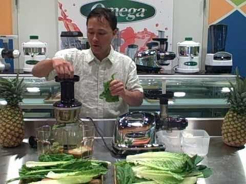 Omega VRT 350 vs Omega 8006 Juicer Comparison: Making Fresh Green Juice