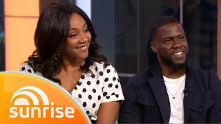 Kevin Hart and Tiffany Haddish live on Australian TV  | Sunrise