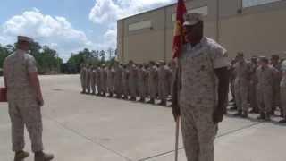 Marine Receives Purple Heart