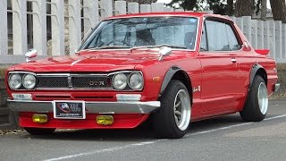 Hakosuka GTR GTX replica for sale @JDM EXPO