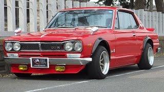 Hakosuka GTR GTX replica for sale @JDM EXPO